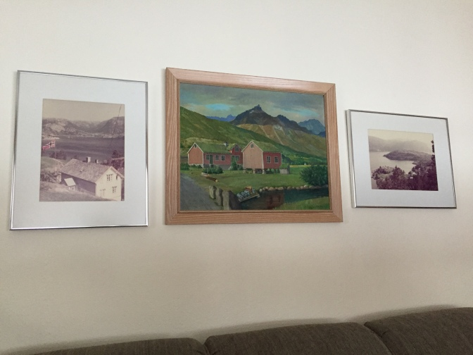 The Tryset painting in my house
