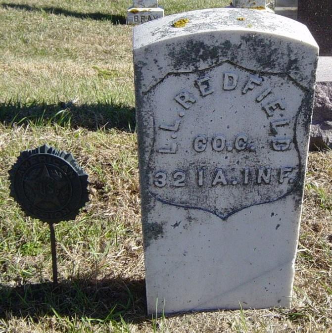 Leonard L. Redfield, Civil War veteran