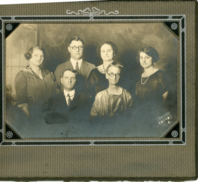 William Ulysses Parke family