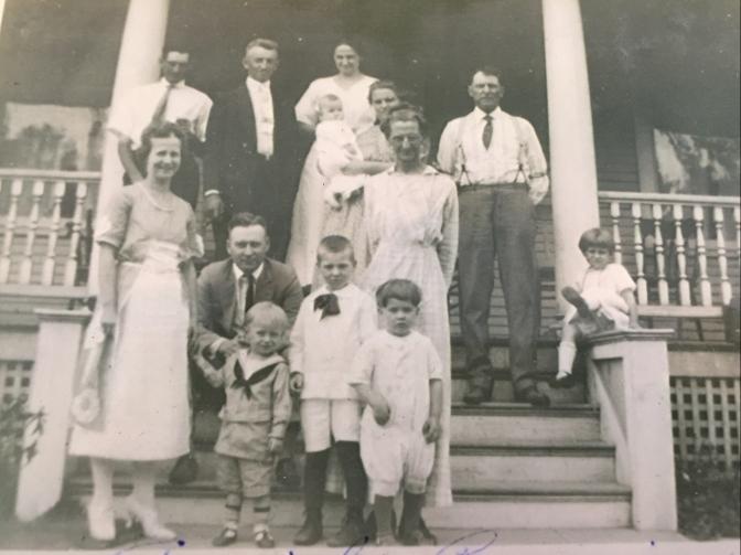 Parke Family Reunion 1922