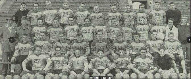 Foreman High football 1945
