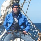Sailing on the Christian Radich